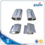 Type manufacturé connecteur de H de bride de parallèle d'aluminium