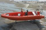 Aqualand 26pies 8m 14personas sólido guardabarros Sponson de espuma EVA de aire no tubo lleno de fibra de vidrio/Sistema inflables rígido Rib en barco a motor (rib800).