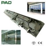 Tecnología de tipo pesado puerta deslizante con motor 80W cargado 300kg de peso de la puerta de vidrio