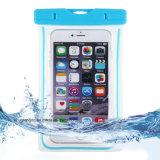 [بفك] مضيئة مسيكة هاتف حالة تغطية لأنّ [سلّ فون] [تووشسكرين] متحرّك [إيفون] 6 ماء برهان تحت مائيّ شفّافة كيس حقيبة