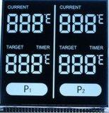 Htn 7 Segment einfarbige LCD-analoge Taktgeber-Bildschirmanzeige
