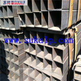 Tubo d'acciaio quadrato galvanizzato di Shs