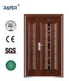 Venda quente uma e meia porta de aço (RA-S166)