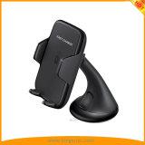 Заряжатель держателя автомобиля беспроволочный быстрый для мобильного телефона Samsung, iPhone с FCC RoHS Ce