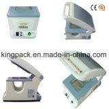 Máquina semiautomática del lacre de la bandeja manual del grado de la aplicación del alimento