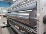 Máquina acanalada de la fabricación de papel del cartón (impresión/el ranurar/el cortar con tintas/que empila)