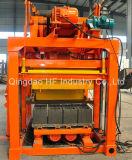 Bloc creux concret semi automatique de la colle Qt4-25 faisant des prix de machine