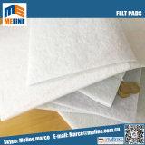 Le confort du matelas de l'aiguille de polyester blanc perforé feutrine, fob Shenzhen/Nansha/Huangpu