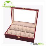 Оптовая продажа коробки ювелирных изделий кольца изготовленный на заказ логоса деревянная