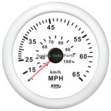 85m m Waterproof Speeedometer 0-65mph con Pitot Tube con Backlight