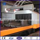 Tipo macchina del trasportatore a rulli di granigliatura per i piatti d'acciaio