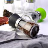 Botella manual de la amoladora de pimienta de la especia del molino de pimienta 100-500ml de la venta caliente