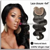 Шнурка природы волос Remy девственницы высокого качества объемной волны бразильского шелковистые 2 шнурка закрытия части Toupee женщин