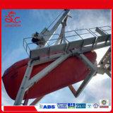 Tanker-Versions-Typ Fiberglas-freies Fall-Rettungsboot