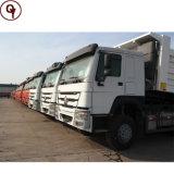 가격을%s 가진 판매에 사용되는 중국 Sinotruk HOWO 371HP 팁 주는 사람 트럭