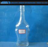 Вино загерметизированного стекла, напиток, бутылка масла с крышкой пряжки металла