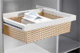 De nieuwe Houten Kast van de Garderobe van de Slaapkamer van de Melamine