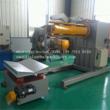 Bobina de acero Full-Automatic Decoiler hidráulico Uncoiler de 10 toneladas