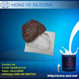 Molde de pedra que faz a borracha de silicone