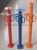 건축에 의하여 직류 전기를 통한 강철은 버팀목 시스템을 버틴다