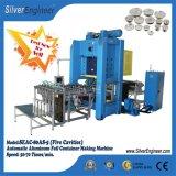 Linea di produzione automatica reale del contenitore del di alluminio