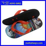 Обувь оптового цветастого горячего PE печати мыжская (14A197)