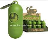 Crottes de chien sac biodégradable avec distributrice
