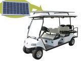 Carrello di golf con il comitato solare, bianco di 4+2 Seater