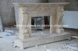 Высокое качество старинных каменных кальция Карвинг мраморный камин (Си-MF251)