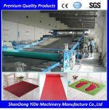 PVC 최신 용해 살포 두 배 색깔 차 지면 매트는 나사 플라스틱 생산 라인을 골라낸다
