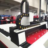 Tagliatrice automatica della lamiera piana del laser della fibra del tessuto 500W