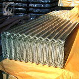 JIS G3321 SGCC Z80 galvanisiertes gewölbter Gi-Stahlblech für Dach-Blatt