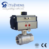 2PC Flanged Ball Valve met ANSI Standard