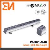 Arandela de la pared de la iluminación de la fachada de los media del LED (H-361-S48-W)