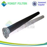 Forst 시멘트 먼지를 위한 폴리에스테에 의하여 주름을 잡는 부대 필터
