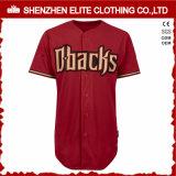 Baseball Sleeveless Jersey della maglia asciutta rapida degli uomini
