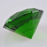 Crystal verde Glass Diamond per Wedding Favor Gift Home Decoration