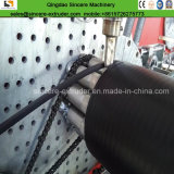 Parede oco do tubo de polietileno com perfil de máquinas de fabricação