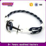 In het groot Manier 100% van de Fabriek van Guangzhou de Zilveren Armband van het Anker