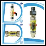 Mini panel de placa de orificio de nitrógeno con conmutador de caudalímetro de alarma