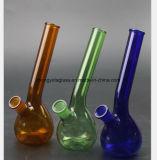 Blaues, grünes, bernsteinfarbiges Glaswasser-Rohr für die 7 Zoll-Rohre