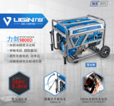 100 % de cuivre 7kw moteur électrique générateur à essence