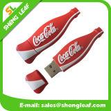 Lecteur flash USB en caoutchouc coloré adorable de cadeau promotionnel (SLF-RU024)