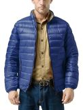 Xiaolv88 Men's Support léger Packable Col Down Jacket