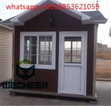 Mobile Prefabricated Portable House Shop Kiosk Sentry Box with Polycore Panel