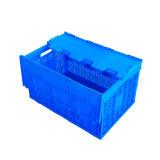 الصين 600*400 صندوق بلاستيكيّة قابل للانهيار مع غطاء لأنّ طعام تخزين