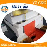 Stabilité élevée Centre de métal d'usinage CNC tournant Falt lit Tour CNC