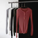 Высокое качество короткие втулки хлопок футболки на заводе