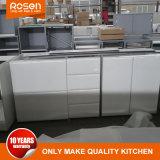 O design da alavanca gratuito todo branco laca Armários de cozinha