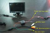 Monitor LCD de carro de 7 polegadas para táxi e ônibus usado